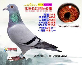 江苏长江决赛281名