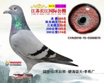 江苏长江决赛348名