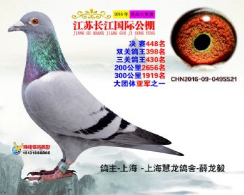 江苏长江决赛448名