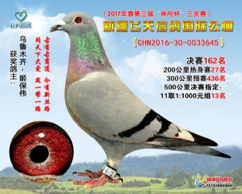 新疆飞天决赛162名