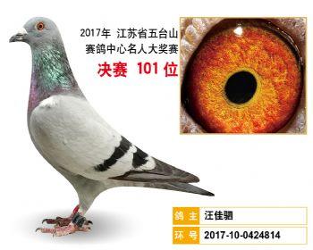 江苏五台山决赛101名