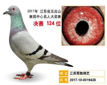 江苏五台山决赛124名