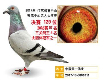 江苏五台山决赛129名