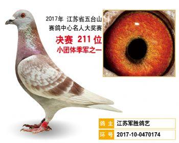 江苏五台山决赛211名