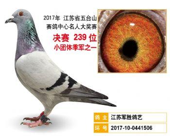 江苏五台山决赛239名