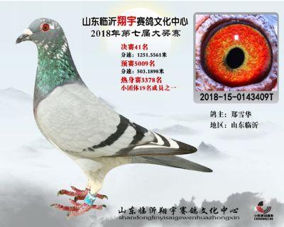 山东翔宇决赛41名