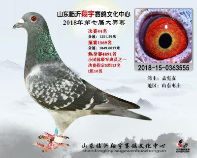 山东翔宇决赛44名