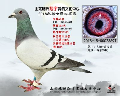 山东翔宇决赛68名