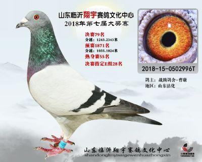 山东翔宇决赛79名
