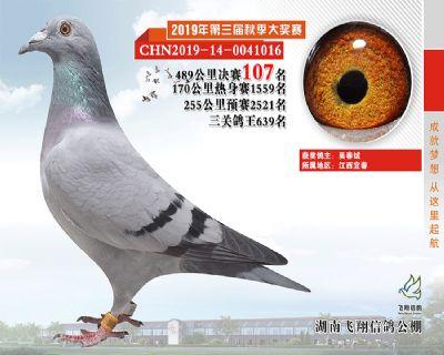 湖南飞翔决赛107名