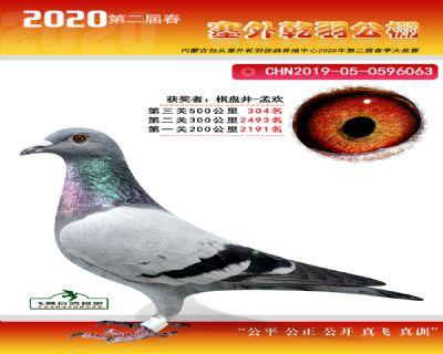 塞外乾羽�Q�304名